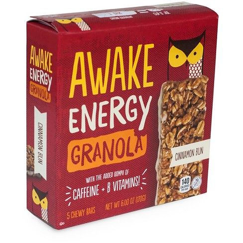 Awake Cinnamon Bun Energy Granola Bar 6 oz - image 1 of 2