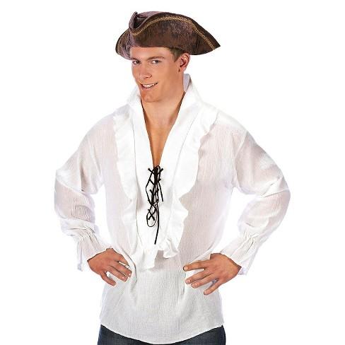 24cd9cd7c Men's Fancy Pirate Shirt Costume : Target