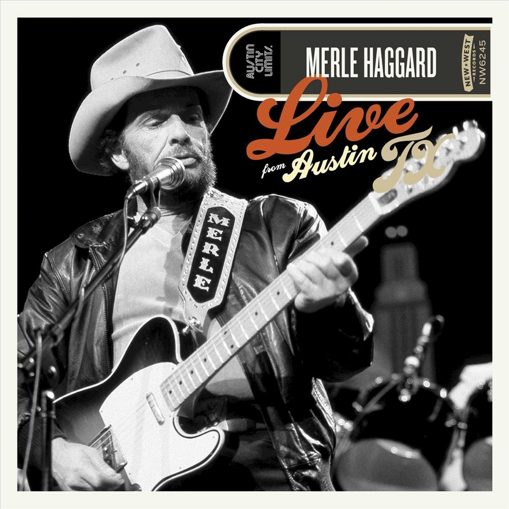 Merle Haggard - Live From Austin Texas (CD)