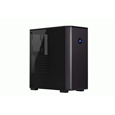 Corsair Carbide 175R RGB Computer Case - Mid-tower - Black - Tempered Glass - 0 - ATX Motherboard Supported - 6 x Fan(s) Supported
