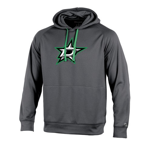 NHL Dallas Stars Men's Edge Gray Poly Textured Hoodie - image 1 of 1
