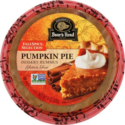 Boar's Head Pumpkin Pie Dessert Hummus  - 8oz