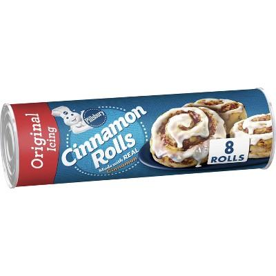 Pillsbury Cinnamon Rolls with Icing - 12.4oz/8ct
