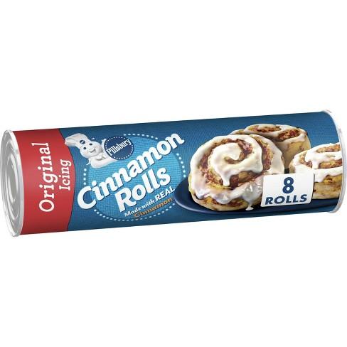 Pillsbury Cinnamon Rolls with Icing - 12.4oz/8ct - image 1 of 4