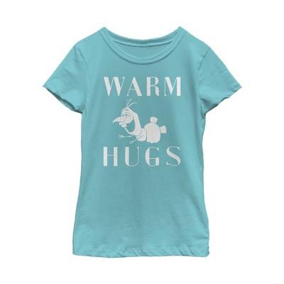 Girl's Frozen 2 Olaf Warm Hugs T-Shirt