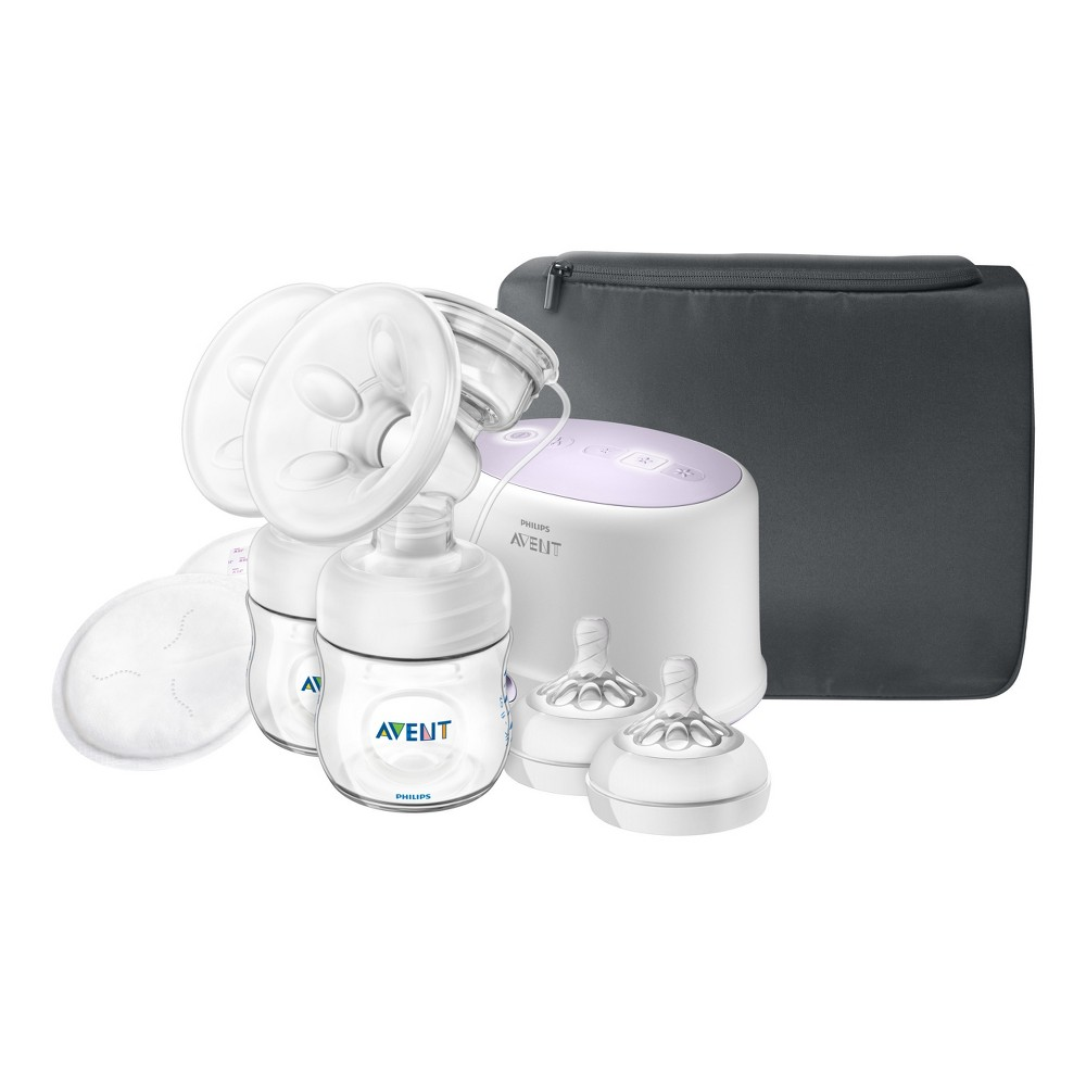 Image of Philips Avent Double Electric Breast Pump + Bonus Power Cushion