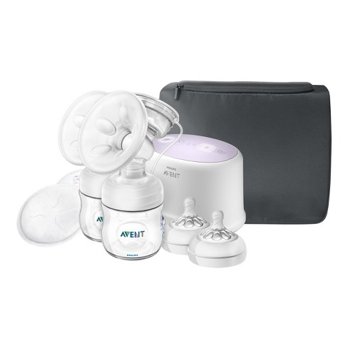 Philips Avent Double Electric Breast Pump + Bonus Power Cushion - image 1 of 9