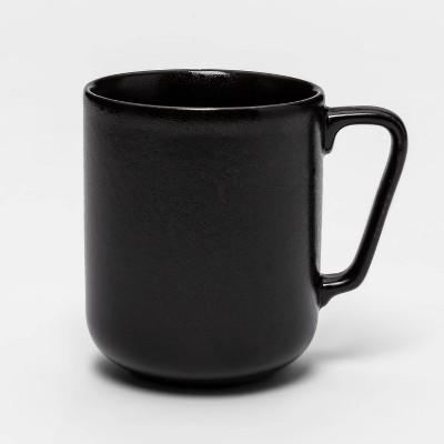 13.5oz Porcelain Ravenna Mug Black - Project 62™