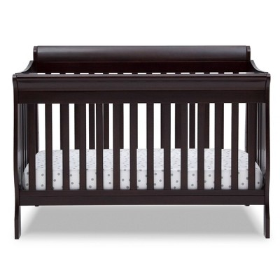Delta Children Deluxe Canton 6-in-1 Convertible Crib - Dark Chocolate