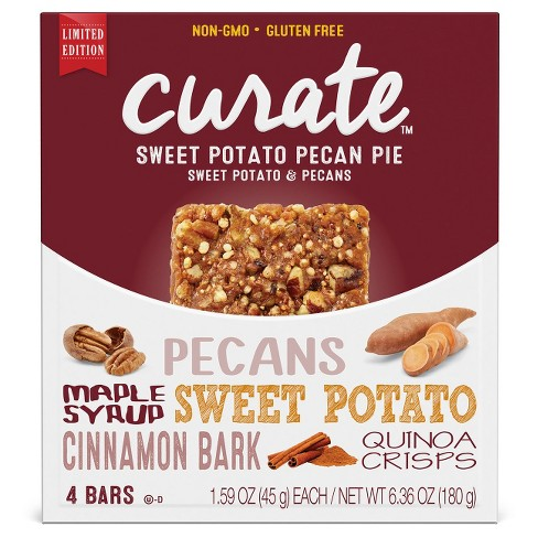 Curate™ Sweet Potato Pecan Pie 180 Gram - image 1 of 4