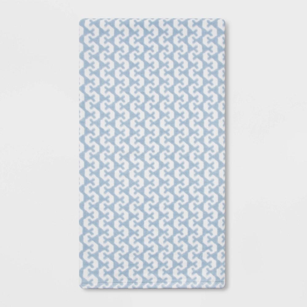 Image of Lionheart Bath Towel Blue - Threshold