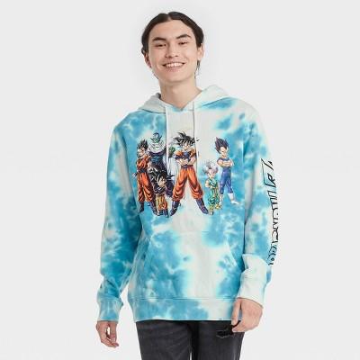 Men's Dragon Ball Z Graphic Sweatshirt - White/Blue
