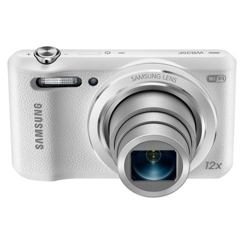 Samsung WB35F 16 2MP Smart WiFi & NFC Digital Camera with 12x Optical Zoom  - White