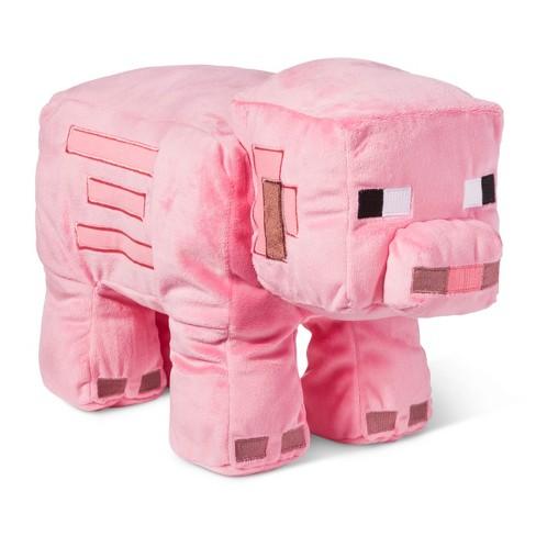Minecraft Pig Pink Pillow Buddy 16 X9 Target