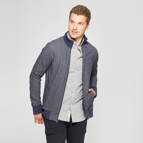 Men's Standard Fit Long Sleeve Full Zip Track Jacket - Goodfellow & Co™ - image 1 of 3