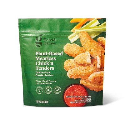 Frozen Plant Based Meatless Chick'n Tenders - 9oz - Good & Gather™