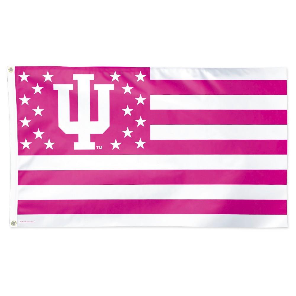 Image of NCAA Indiana Hoosiers Deluxe Flag