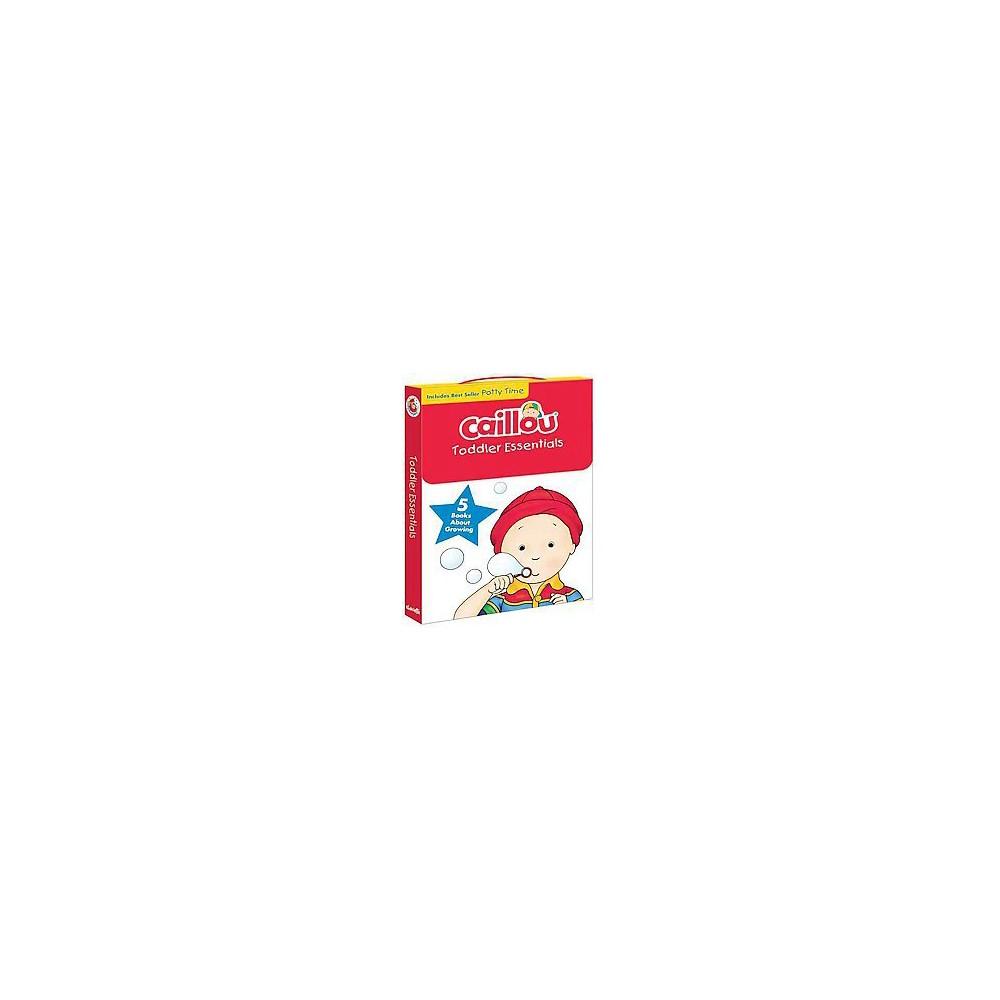 Caillou Toddler Essentials : 5 Books About Growing (Paperback) (Joceline Sanschagrin)