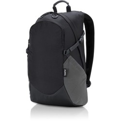 """Lenovo Carrying Case (Backpack) for 15.6"""" Notebook - Black - Water Resistant, Weather Resistant - Ripstop Nylon - Shoulder Strap, Handle"""