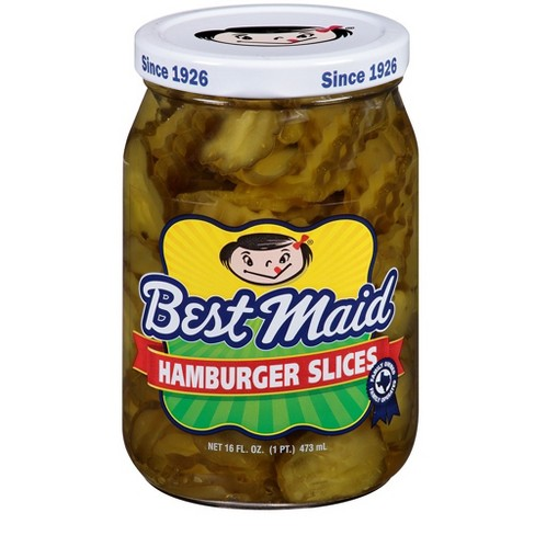 Best Maid Hamburger Dill Pickle Slices - 16oz - image 1 of 1