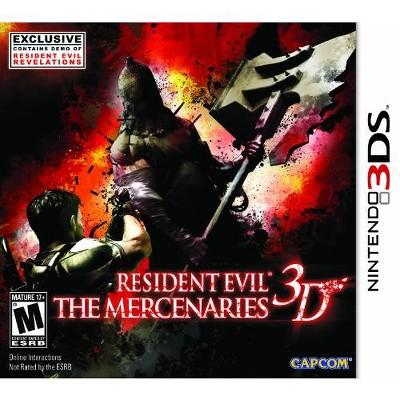 Resident Evil: The Mercenaries - Nintendo 3DS