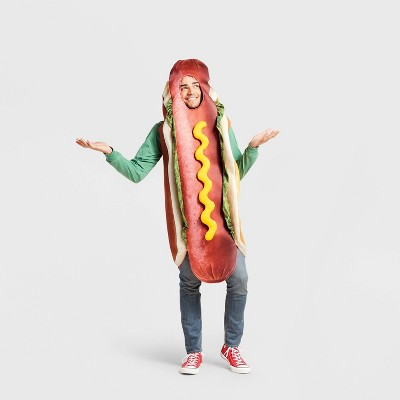 Adult Hot Dog Halloween Costume Bodysuit One Size - Hyde & EEK! Boutique™