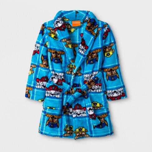 6184ca951 Toddler Boys  PAW Patrol Robe - Blue 2T   Target