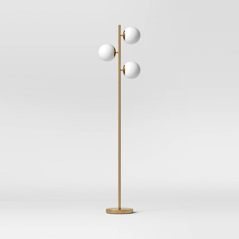 Globe Track Tree Floor Lamp White - Project 62™ - image 1 of 4