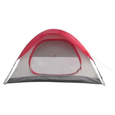 2 Person Dome Tent 4'6 X7'6 X48  - Red - Embark™
