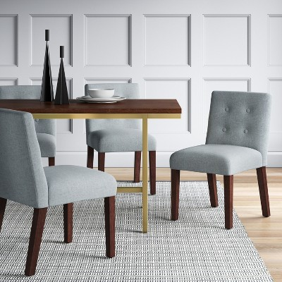 Ewing Modern Dining Chair With Buttons   Project 62™ : Target