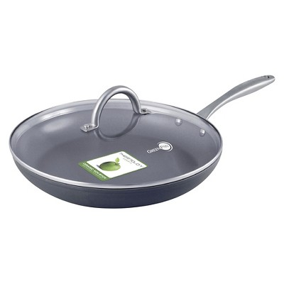 GreenPan Lima 12  Ceramic Nonstick Frypan with Lid