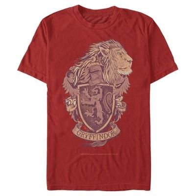 Men's Harry Potter Gryffindor Coat of Arms T-Shirt