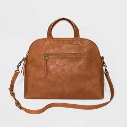 Magnetic Closure Triple Compartment Satchel Handbag - Universal Thread™
