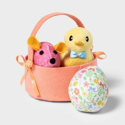 Easter Basket Gift Set Cat Toy - 3pk - Boots & Barkley™