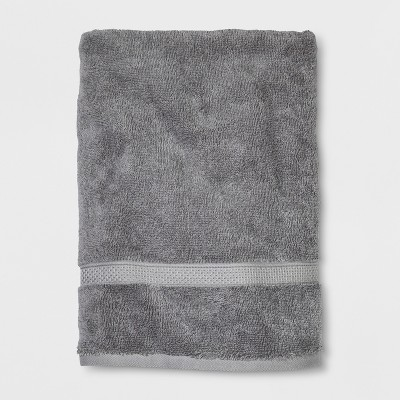 Soft Solid Bath Towel Gray - Opalhouse™