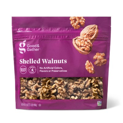 Shelled Walnuts - 16oz - Good & Gather™