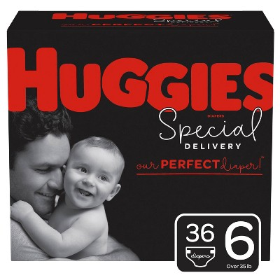 Huggies Special Delivery Disposable Diapers Super Pack - Size 6 - 36ct
