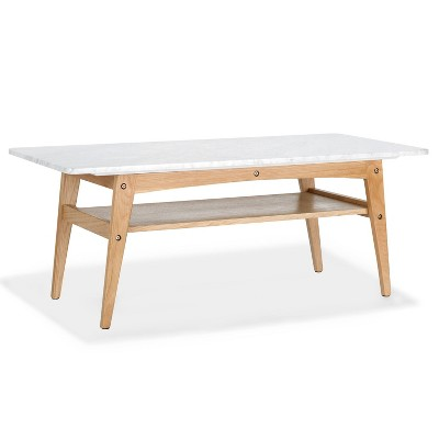 Manchester Marble Coffee Table - Poly & Bark