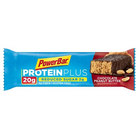 PowerBar ProteinPlus 20g Reduced Sugar Bar - Chocolate Peanut Butter -15ct - image 1 of 1