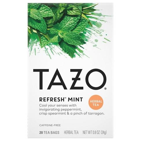 Tazo Refresh Herbal Tea - 20ct - image 1 of 4