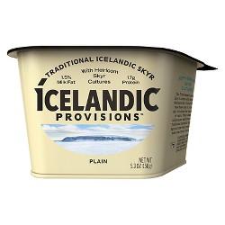 Icelandic Provisions Plain Skyr Yogurt - 5.3oz