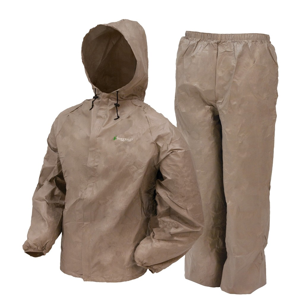 Image of Frogg Toggs Ultra Lite Rain Suit - Khaki, Beige
