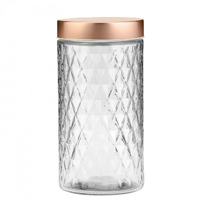 Amici Home Desmond Glass Canister, Large, 60oz
