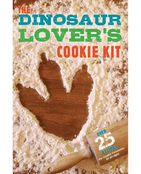 Dinosaur Lover's Cookie Kit (Paperback) - image 1 of 1