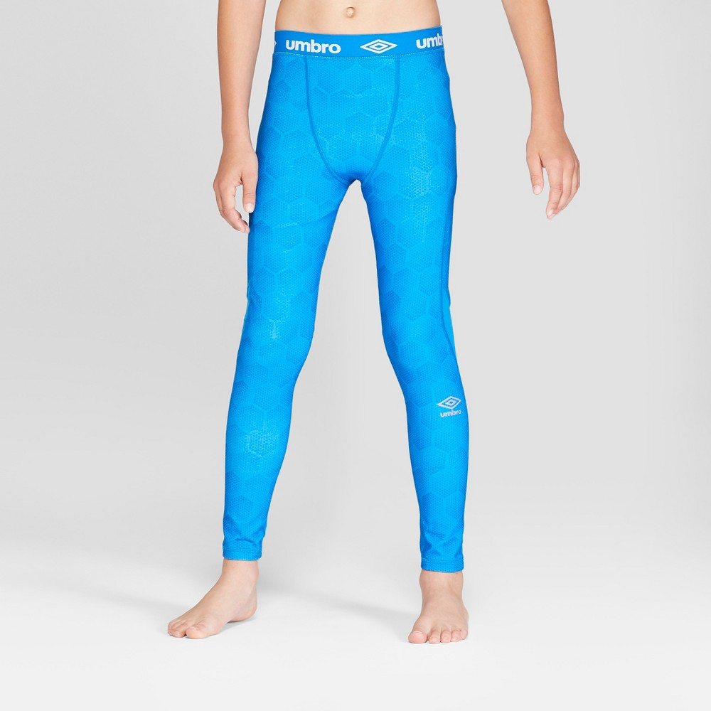 Umbro Boys' Compression Leggings - Electric Blue XS