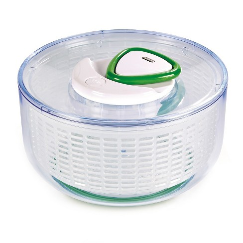 Zyliss Easy Spin Salad Spinner White - image 1 of 3