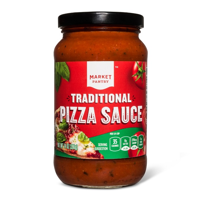 Traditional Pizza Sauce 14oz - Market Pantry™ - image 1 of 1