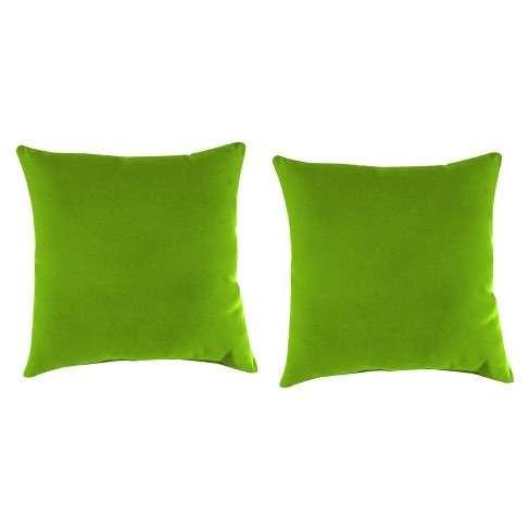 Outdoor Set Of 2 Accessory Toss Pillows In Davinci Willow - Jordan Manufacturing - image 1 of 2
