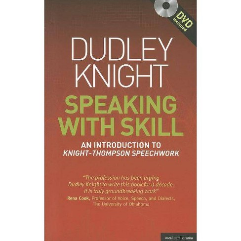 Speaking with Skill: A Skills Based Approach to Speech Training - (Methuen Drama Modern Plays) - image 1 of 1