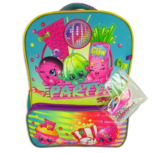 "Shopkins 16"" Decorate Your Own Kids' Backpack - Pink/Blue - image 1 of 6"